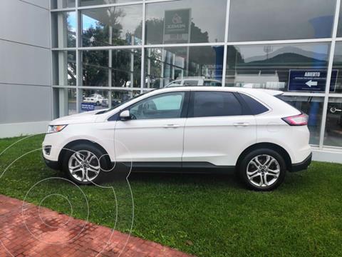 Ford Edge Titanium usado (2017) color Blanco Platinado precio $435,000
