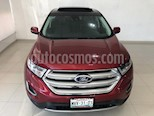 Foto venta Auto usado Ford Edge Titanium (2015) color Rojo Rubino precio $349,900