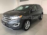 Foto venta Auto usado Ford Edge Titanium (2015) color Gris precio $335,500
