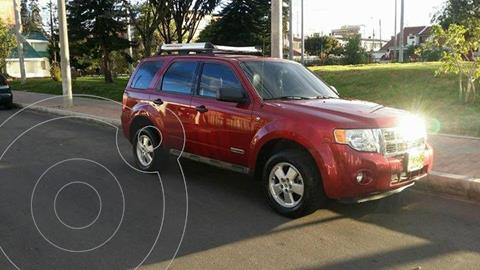 Ford Escape  3.0L XLT 4x4 usado (2008) color Rojo precio $31.500.000