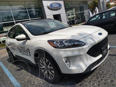 Ford Escape Titanium usado (2020) color Blanco precio $655,000