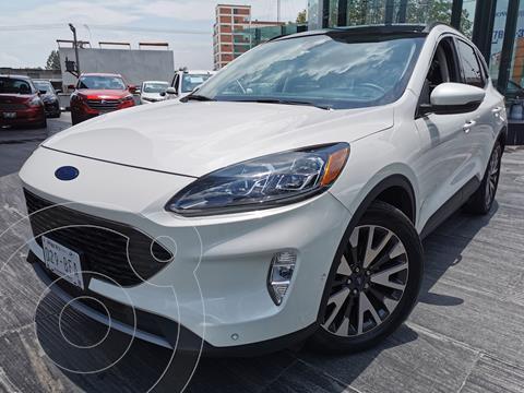 Ford Escape Titanium EcoBoost usado (2020) color Blanco Oxford precio $615,000