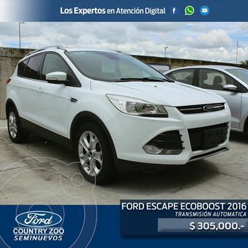 Ford Escape Titanium EcoBoost usado (2016) color Blanco precio $305,000