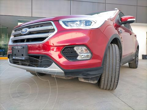 Ford Escape Titanium EcoBoost usado (2018) color Rojo Rubi precio $360,000