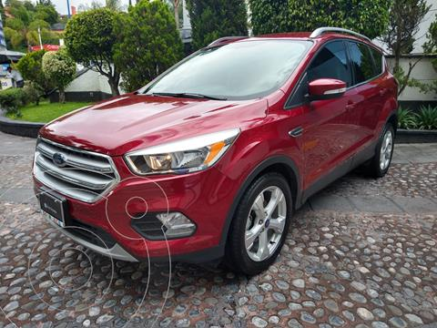 Ford Escape Trend Advance usado (2017) color Rojo Rubi financiado en mensualidades(enganche $115,000)