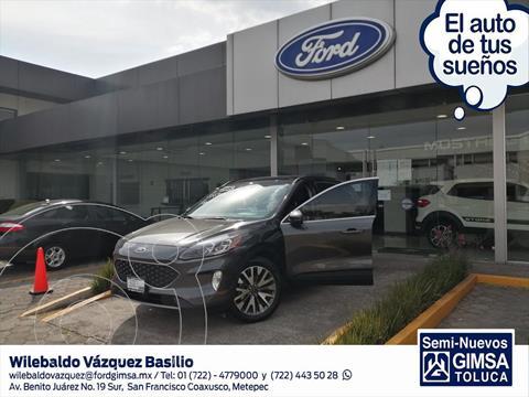 Ford Escape TITANIUM ECOBOOST 2.0L usado (2020) color Gris Oscuro precio $555,000