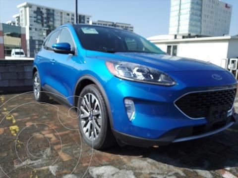 Ford Escape TITANIUM ECOBOOST 2.0L usado (2020) color Azul Electrico precio $659,000