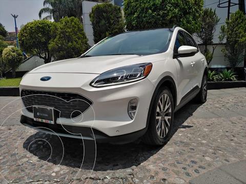 Ford Escape TITANIUM ECOBOOST 2.0L usado (2020) color Blanco precio $630,000