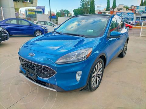 Ford Escape Titanium EcoBoost usado (2020) color Azul precio $608,000