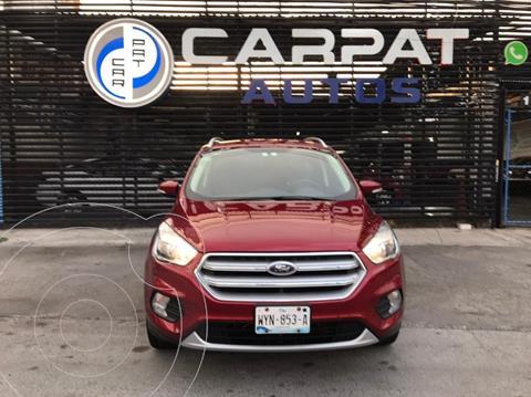 Ford Escape S Plus usado (2018) color Rojo precio $299,000