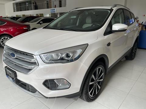 Ford Escape Titanium EcoBoost usado (2018) color Blanco precio $342,000