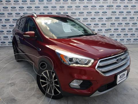 Ford Escape Titanium EcoBoost usado (2017) color Rojo precio $310,000