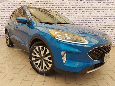 Ford Escape Titanium EcoBoost usado (2020) color Azul precio $518,000