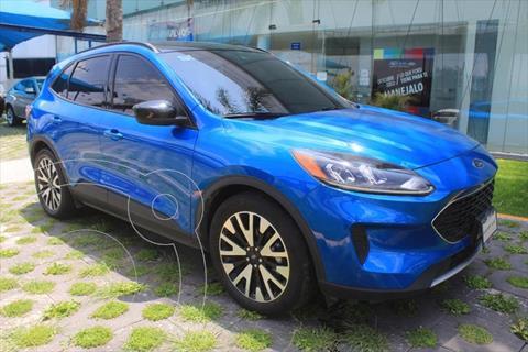Ford Escape TITANIUM ECOBOOST 2.0L usado (2020) color Azul Electrico precio $595,000