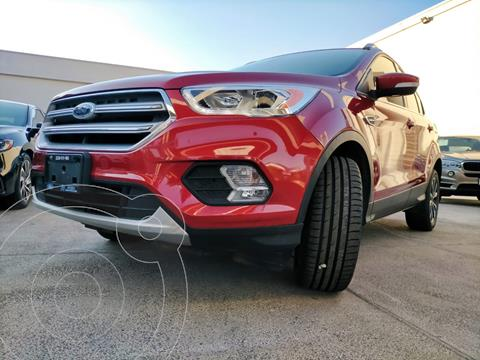Ford Escape Titanium EcoBoost usado (2017) color Rojo Rubi financiado en mensualidades(enganche $340,000)