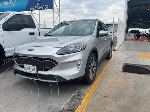 Ford Escape TITANIUM ECOBOOST 2.0L usado (2020) color Plata precio $599,000
