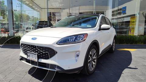 Ford Escape Titanium EcoBoost usado (2020) color Blanco precio $599,000