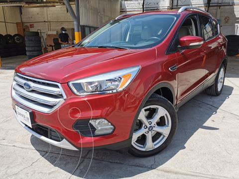 Ford Escape Trend Advance EcoBoost usado (2017) color Rojo Rubi financiado en mensualidades(enganche $76,000 mensualidades desde $8,369)