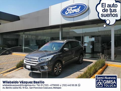 Ford Escape TITANIUM ECOBOOST 2.0L usado (2018) color Gris Oscuro precio $349,000