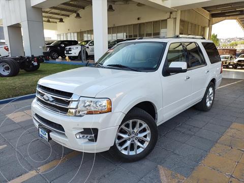 Ford Expedition Limited 4x2 usado (2017) color Blanco precio $599,000