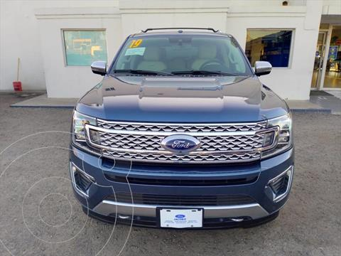 Ford Expedition PALTINUM MAX 4X4 usado (2019) color Azul Electrico precio $980,000