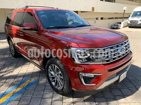 Ford Expedition LIMITED 4X2 3.5L GTDI usado (2018) color Rojo precio $889,000