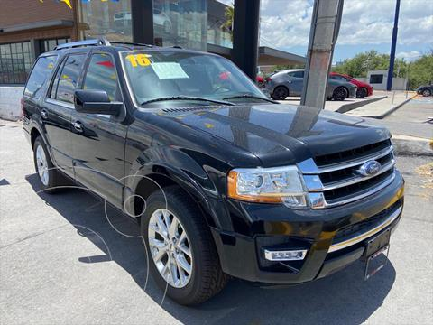 Ford Expedition Limited 4x2 usado (2016) color Negro precio $448,000