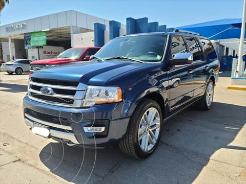 Ford Expedition Paltinum 4x4 usado (2017) color Azul Marino precio $490,000