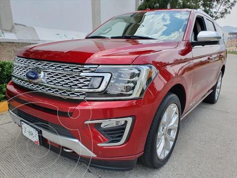 Ford Expedition Platinum usado (2018) color Rojo precio $895,000