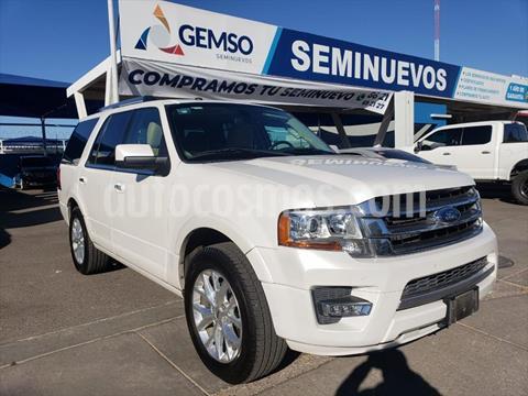 Ford Expedition Limited 4x2 usado (2017) color Blanco precio $460,000