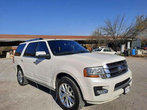 Ford Expedition Limited 4x2 usado (2015) color Blanco precio $339,000