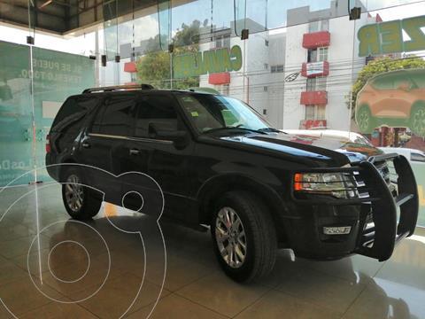 Ford Expedition Limited 4x2 usado (2015) color Negro precio $360,000
