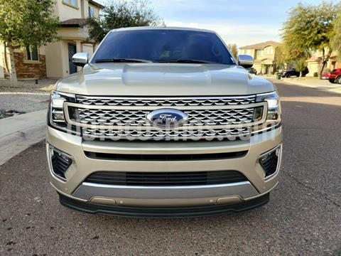 Ford Expedition Platinum Max 4x4 usado (2018) color Bronce precio $690,000