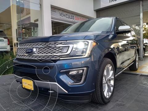 Ford Expedition Platinum Max 4x4 usado (2018) color Azul precio $990,000
