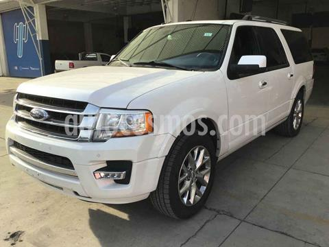 Ford Expedition Limited 4x2 MAX usado (2015) color Blanco precio $245,000