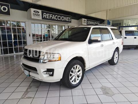 Ford Expedition Limited 4x2 usado (2016) color Blanco precio $465,000