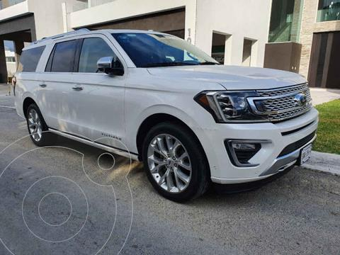 Ford Expedition Platinum 4x4 MAX usado (2018) color Blanco precio $850,000