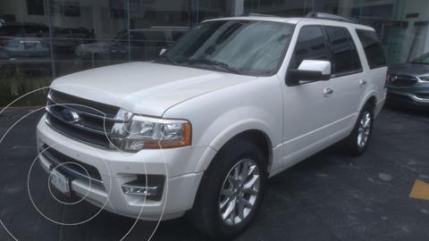 Ford Expedition Limited 4x2 usado (2017) color Blanco precio $510,000