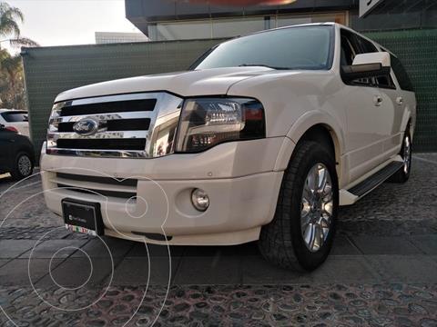 Ford Expedition 5P MAX LIMITED V8 5.4 AUT usado (2014) color Blanco precio $350,000