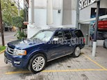 Foto venta Auto usado Ford Expedition Platinum 4x4 MAX (2017) color Azul precio $615,000
