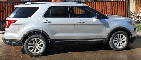 Ford Explorer 3.5L XLT 4x2  usado (2019) color Gris precio $26.000.000