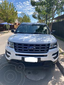 Ford Explorer 2.3L Ecoboost 4x2   usado (2018) color Blanco Mineral precio $22.850.000