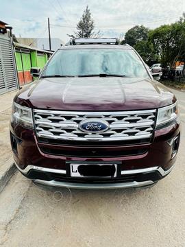 Ford Explorer 2.3L Limited Ecoboost 4x4 usado (2020) color Rojo precio $35.000.000