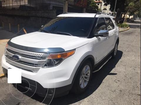 Ford Explorer Limited Aut usado (2013) color Blanco precio $60.000.000