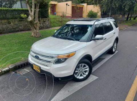 Ford Explorer Limited 4x4  usado (2015) color Blanco precio $82.900.000