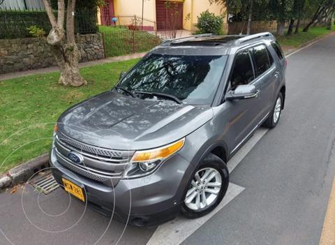 Ford Explorer Limited Aut usado (2013) color Gris precio $73.900.000