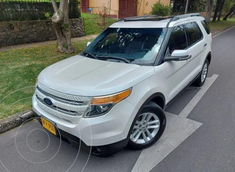 Ford Explorer Limited 4x4  usado (2015) color Blanco precio $86.900.000