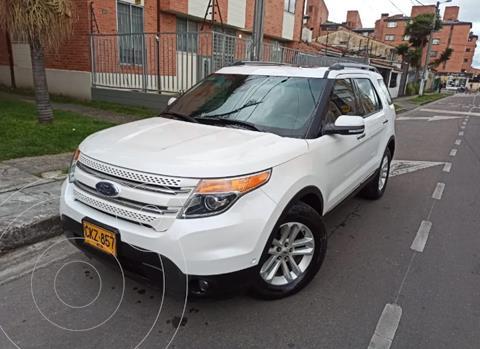Ford Explorer Limited Aut usado (2013) color Blanco precio $74.400.000