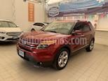 Foto venta Auto usado Ford Explorer LIMITED V6 (2015) color Rojo precio $365,000