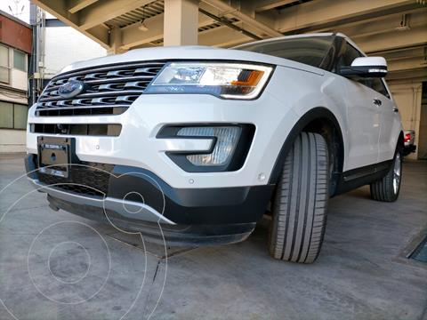 Ford Explorer Limited usado (2017) color Blanco precio $480,000